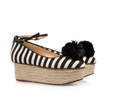 Charlotte Olympia - were £525, now £236.25