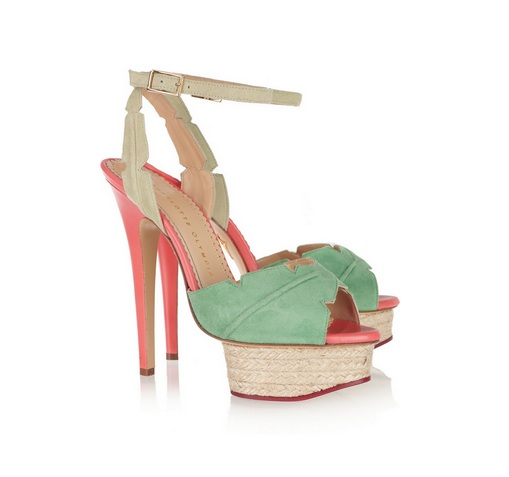 Charlotte Olympia - Were £645, now £290.25