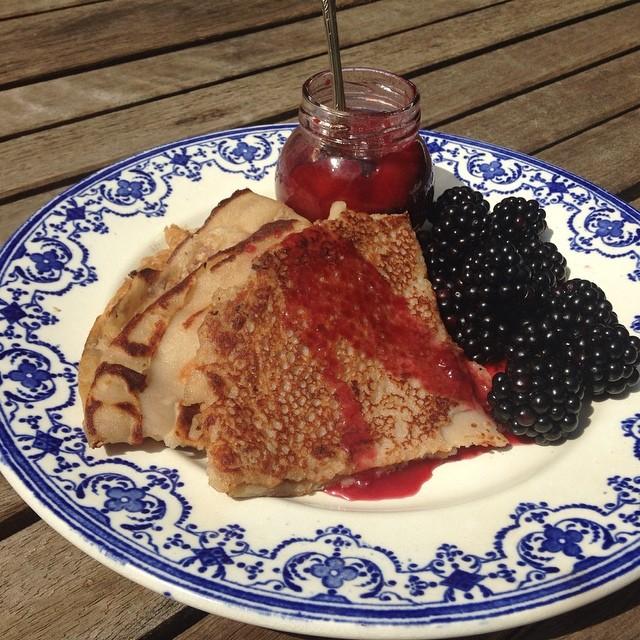 Madleine Shaw Quinoa Pancakes