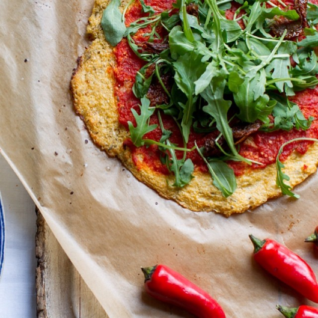 Madeleine Shaw Cauliflower Pizza